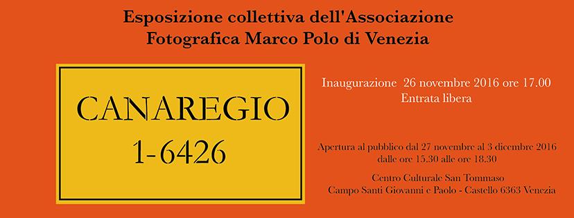 """Mostra """"Canaregio 1-6426"""""""