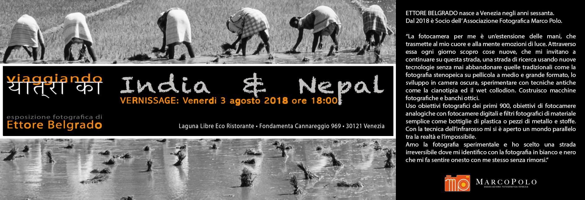 Ettore Belgrado - Viaggiando - India e Nepal