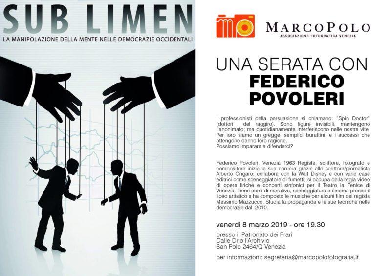 Sublimen - una serata con Federico Povoleri