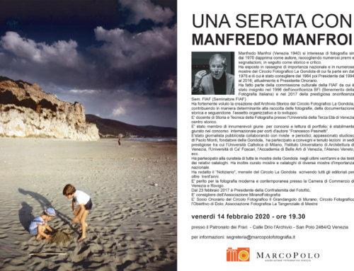 Serata con Manfredo Manfroi