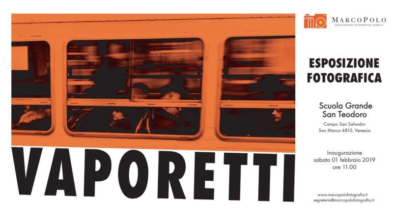 Invito mostra Vaporetti