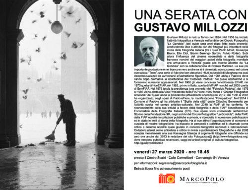 Serata con Gustavo Millozzi